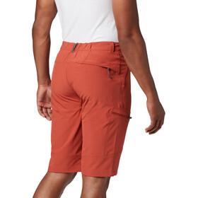 Columbia Triple Canyon Pantalones Cortos Hombre, carnelian red